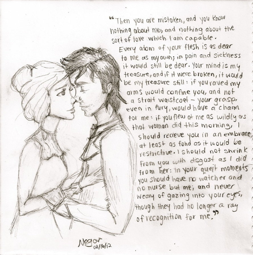 Quotes Jane Eyre Jane Eyre And Mrrochesterthinkfme On Deviantart