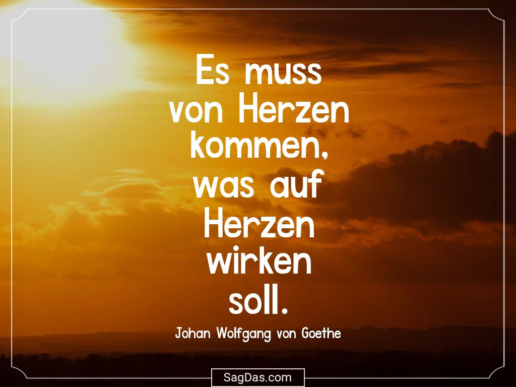 Goethe Spruche