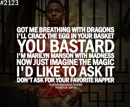 Kendrick Lamars Quote