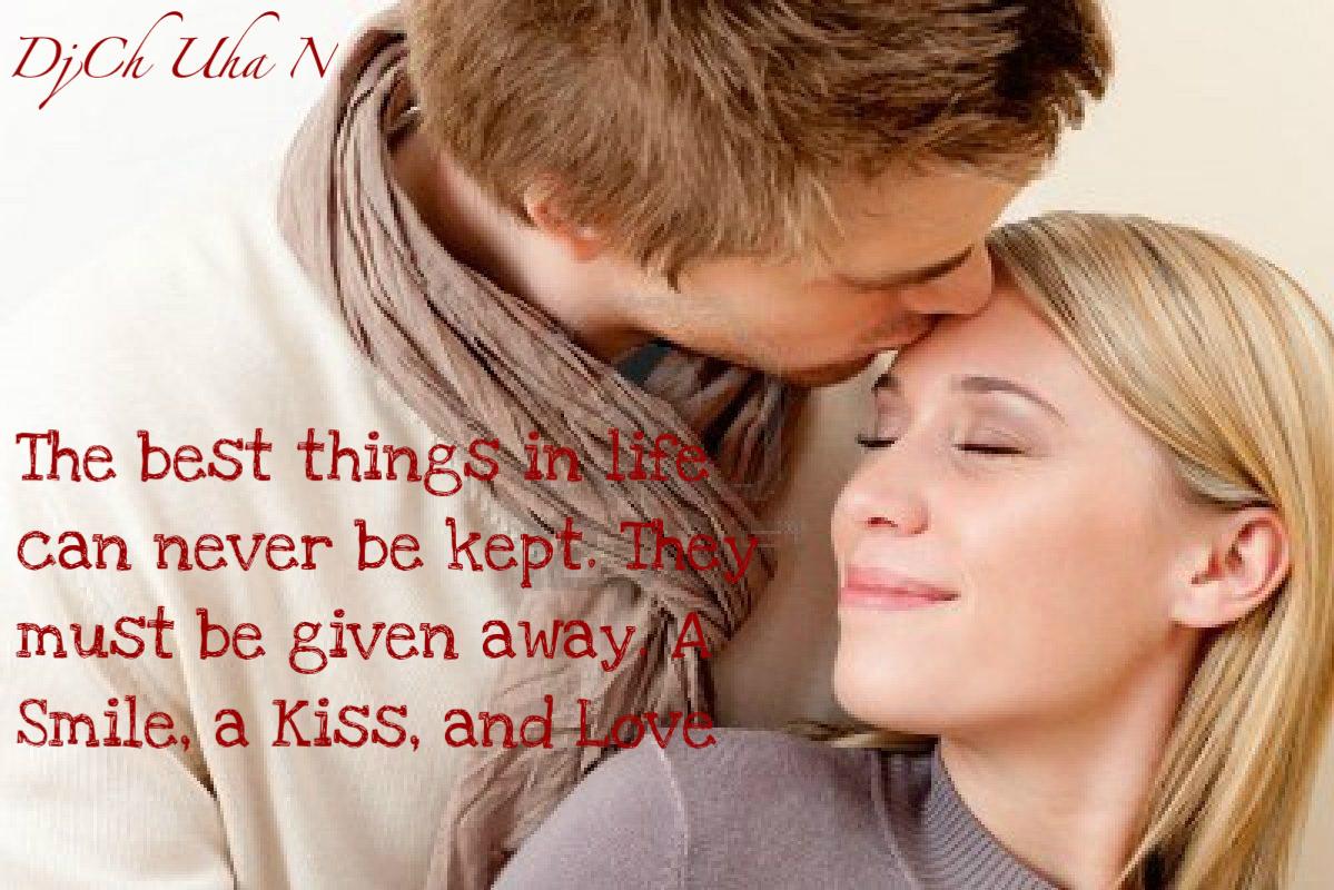 Kiss Quotes Hd Wallpaper