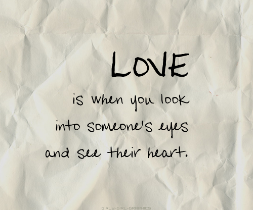 Love Quote And Heart Image