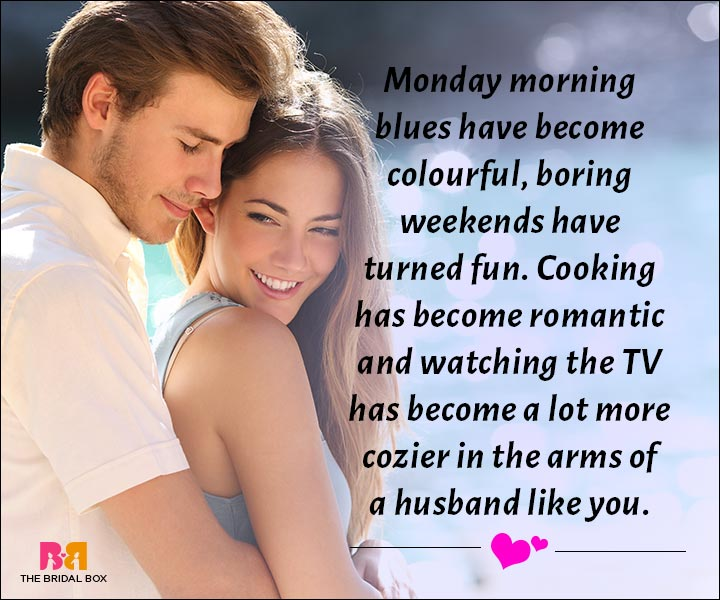 Love Messages For Husband A Husband Like You