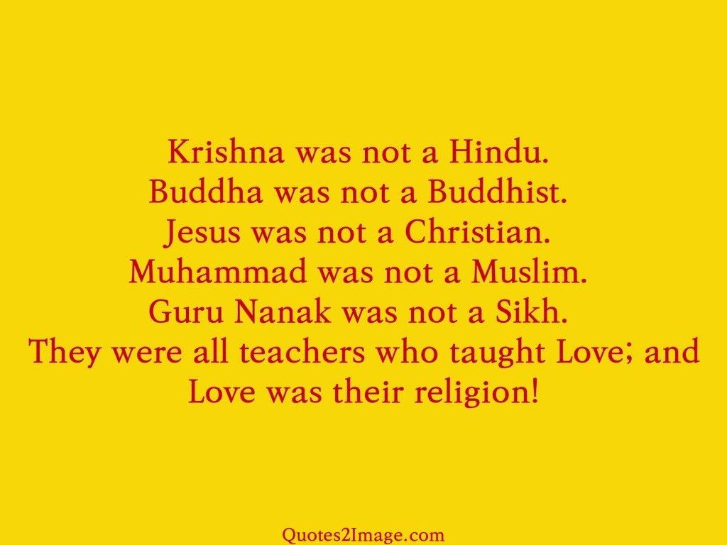 Love Was Their Religion
