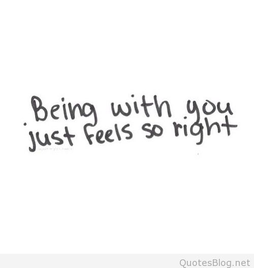 Love Quotes Cute Sayings So Right