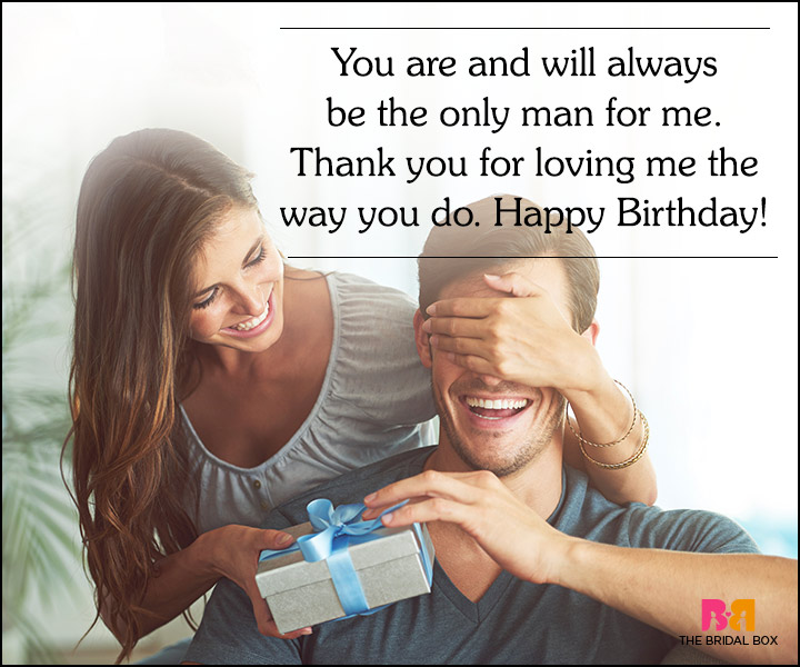 Love Quotes For Husband On His Birthday The Only Man For Me