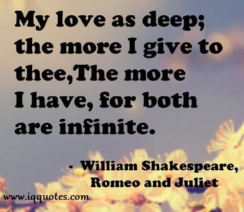 Love Quotes For Romeo And Juliet Valentine Day