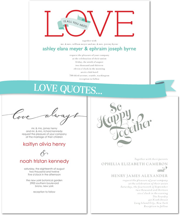 Love Quotes For Wedding Invitations Template Zdwpqkw