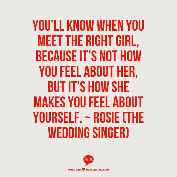 Love Quotes From Wedding Singer Valentine Day