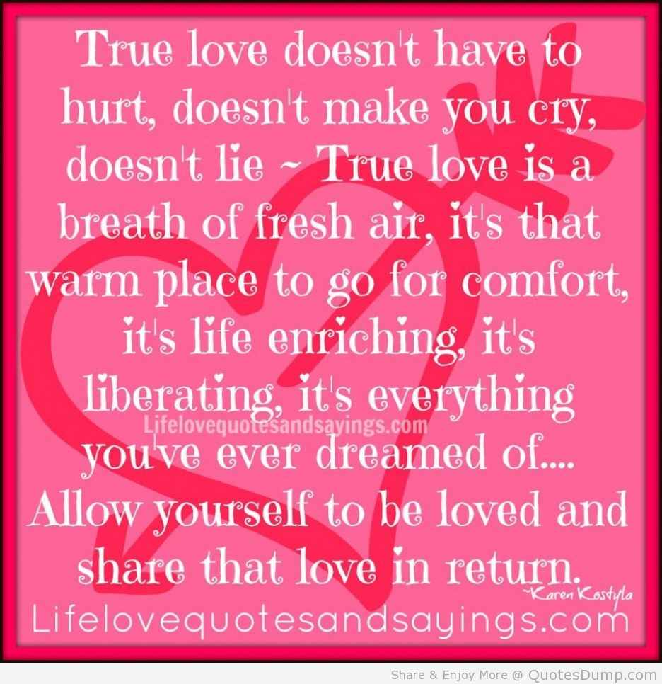 Love Quotes True Love Doesnt Have To Hurt Please Let Me Show You