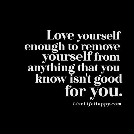 Love Yourself Enough To