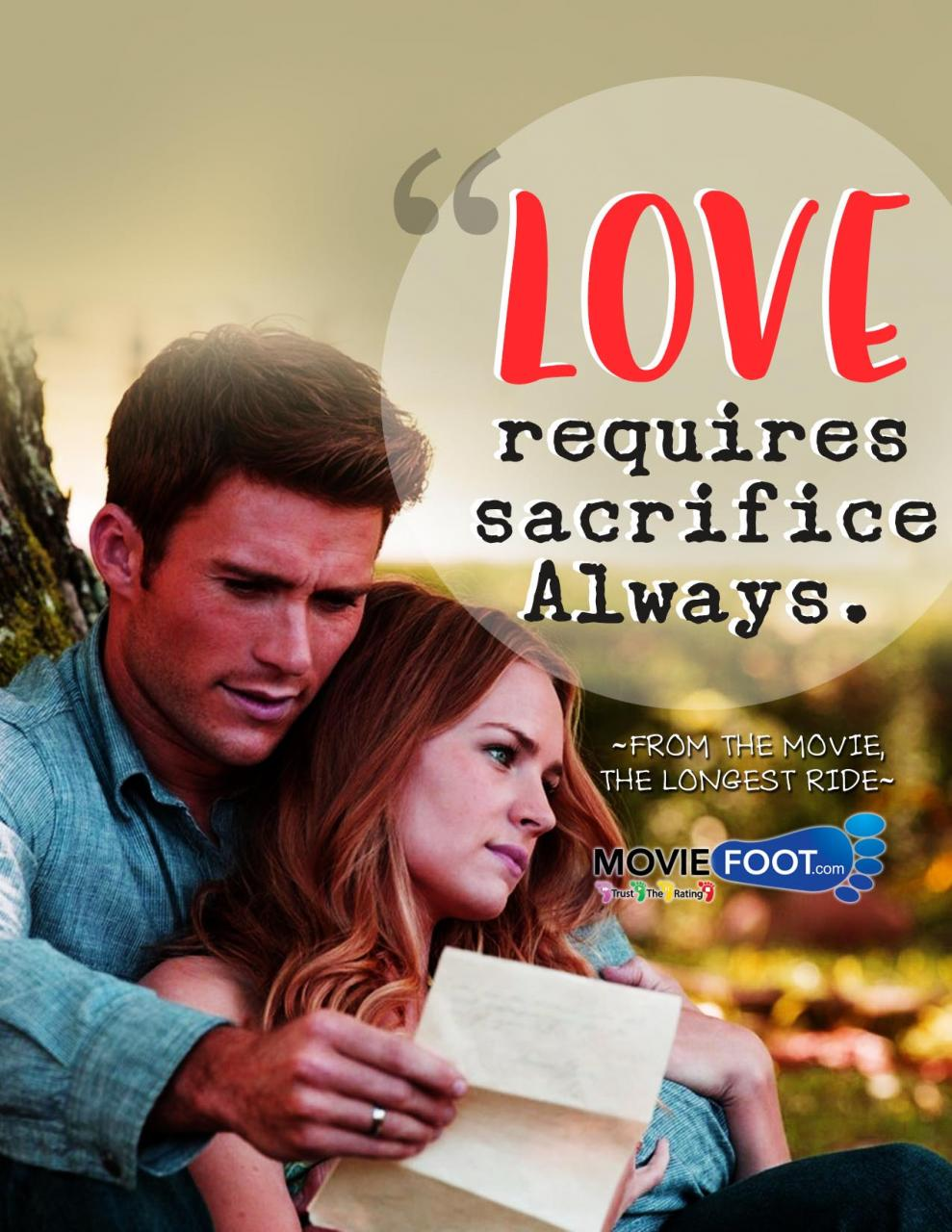 The Longest Ride Quotes Quote Poster