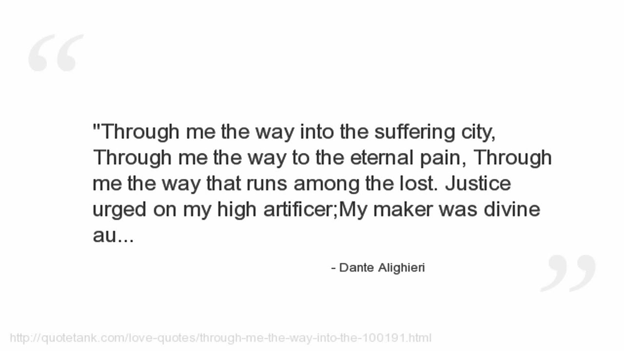 Dante Quotes Dante Alighieri Quotes You
