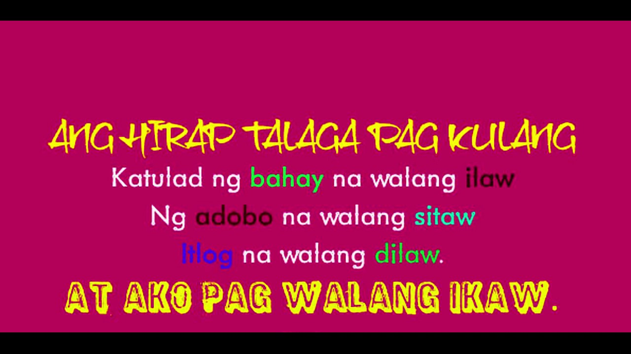 Funny And Beautiful Tagalog Love Quotes Friendship Quotes