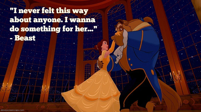 Never Felt This Way Beauty And The Beast Quotes