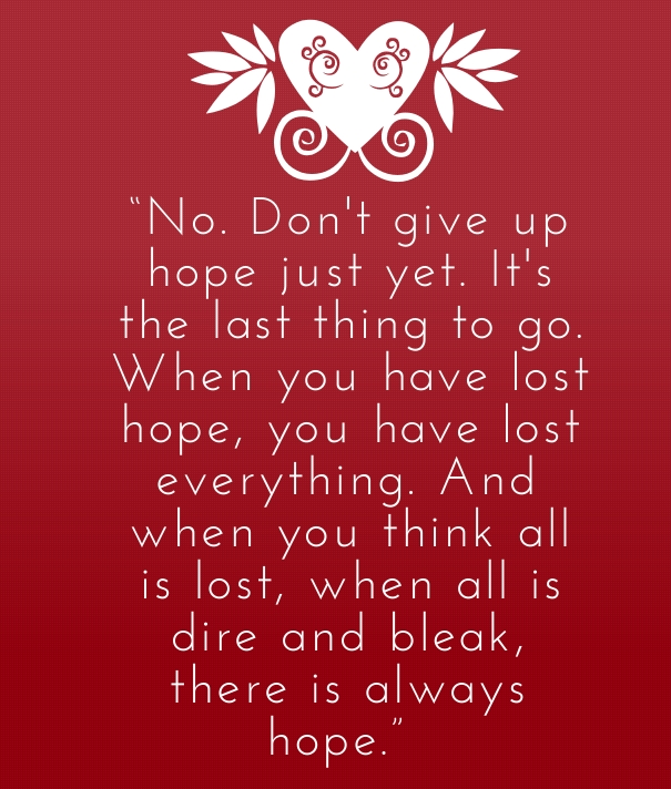 Dont Give Up Keep Your Hope Alive Never Give Up On Love Quotes