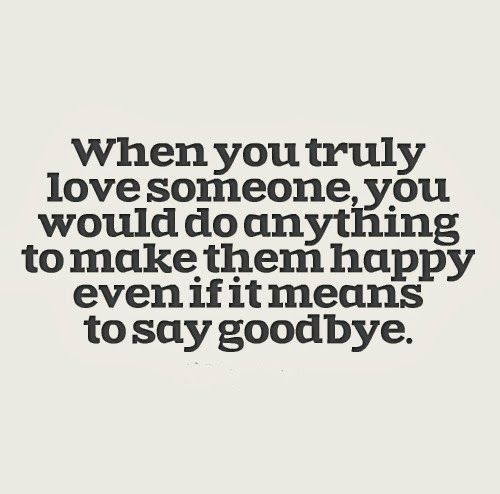 Painful To Say Goodbye