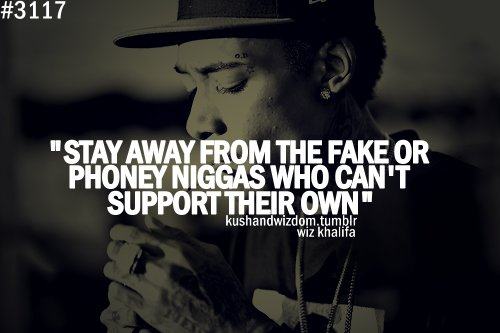 Staying Away From Fake People