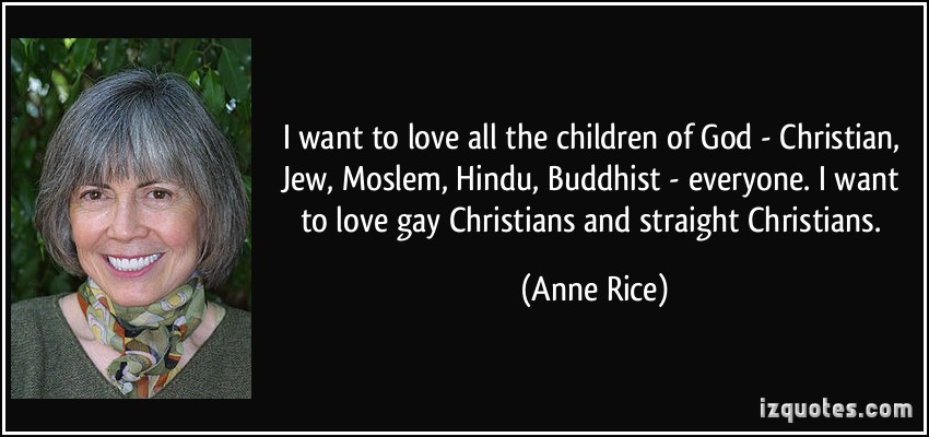 I Want To Love All The Children Of Christian Jew Moslem