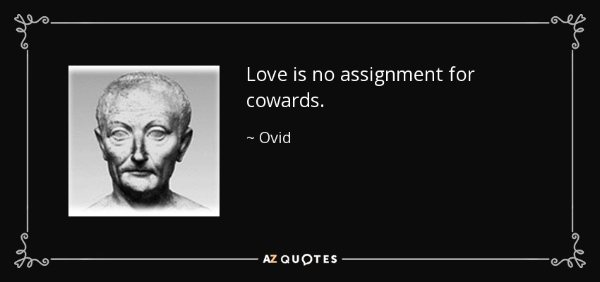 Love Is Noignment For Cowards