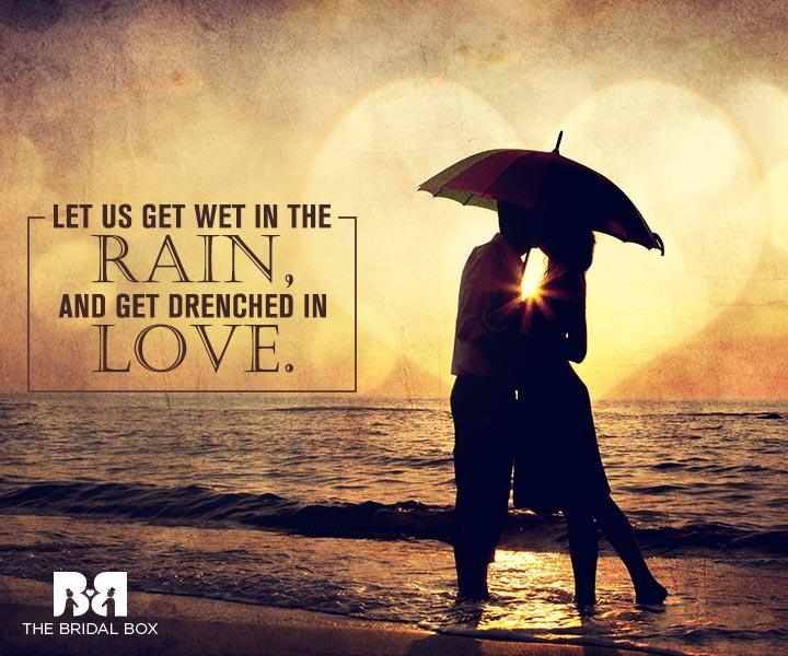 Rain Love Quotes