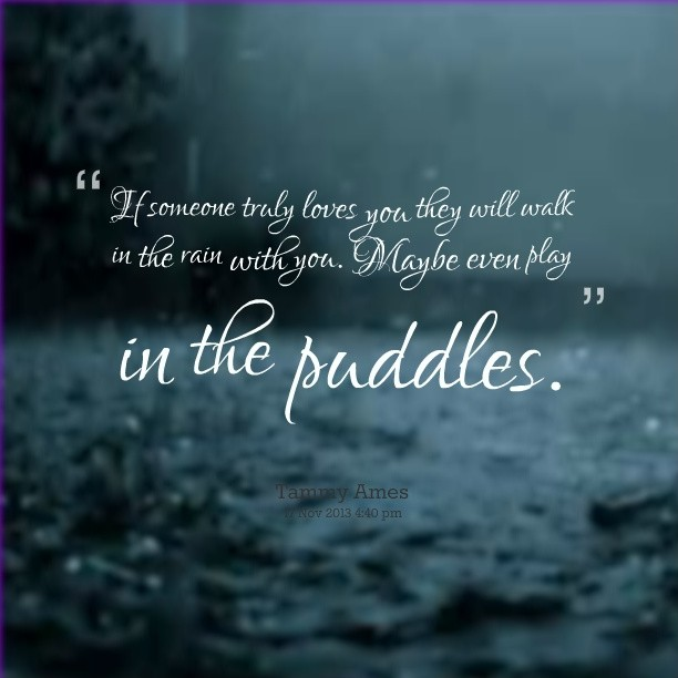 Beautiful Rain Quotes