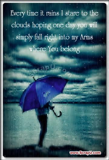 Romance In Rain Cards