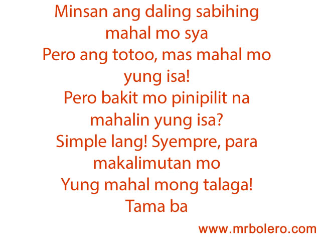 Best Sad Tagalog Love Quotes