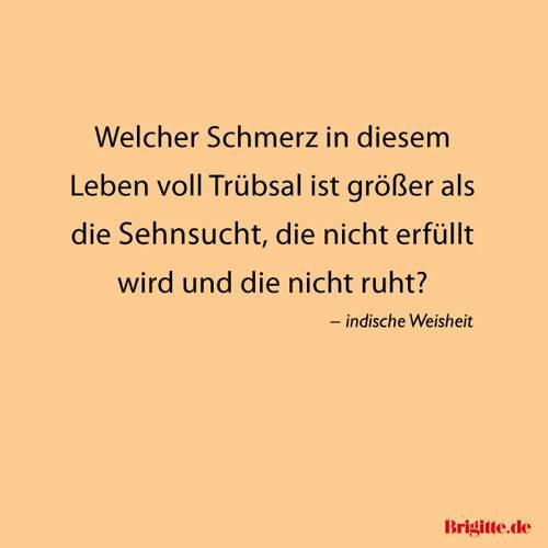 Spruche Zitate Voller Sehnsucht Brigitte De