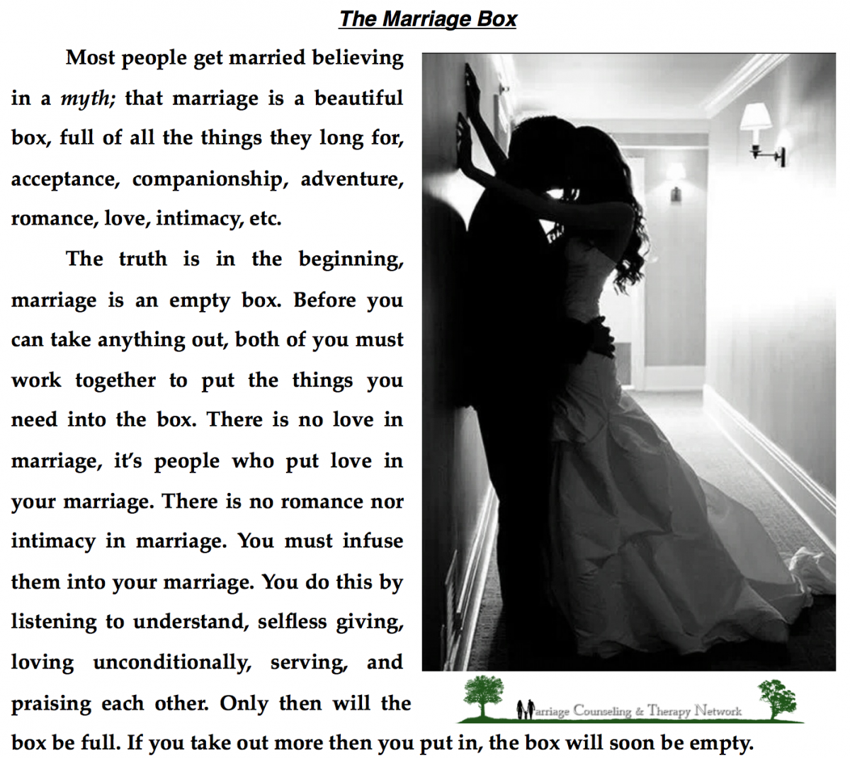 Marriage Quotes Love Quotes The Marriage Box