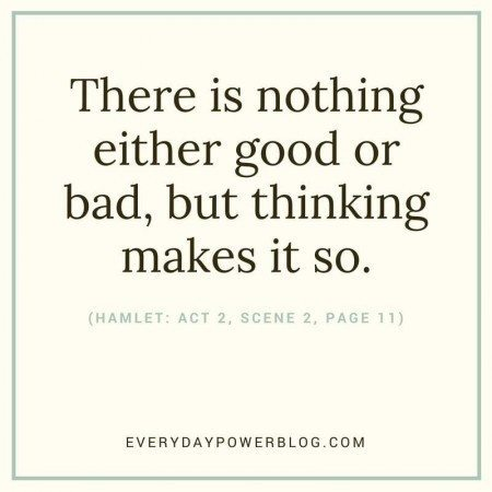 Shakespeare Quotes Thinking