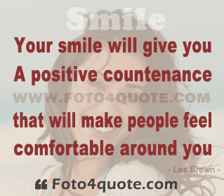 Smile Quotes And Images Smiling Girl Smiles Les Brown