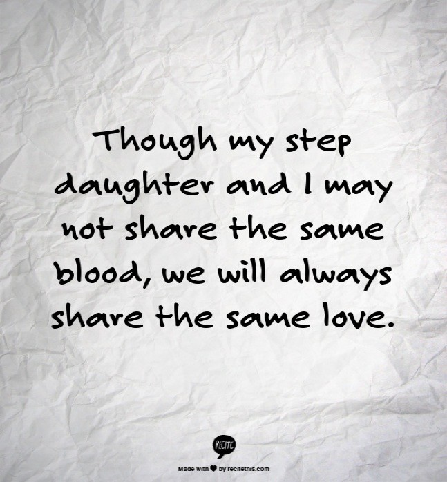 Step Daughter Quote  Picture Quote
