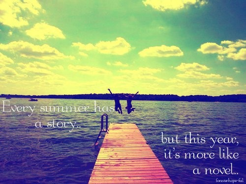 Summer Quote Picture Quote