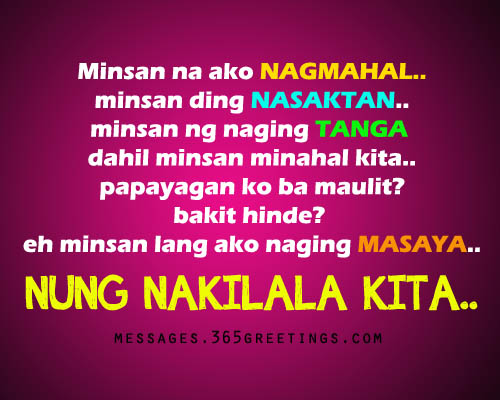Tagalog Heartbroken Quotes Sad Tagalog Love Quotes For Brokenhearted