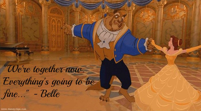 Together Now Beauty And The Beast Quotes