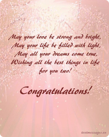 May Your Love Be Strong And Bright Wedding