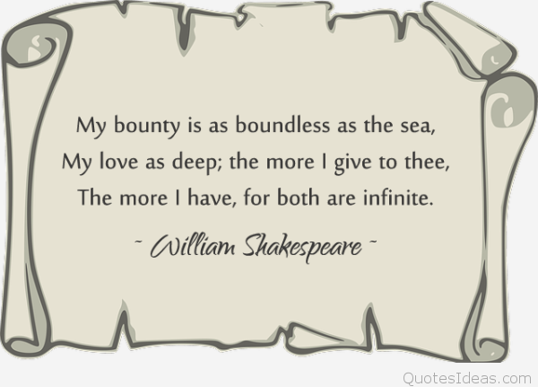 William Shakespeare Famous Quotes  ___falling_for_you_quotes_