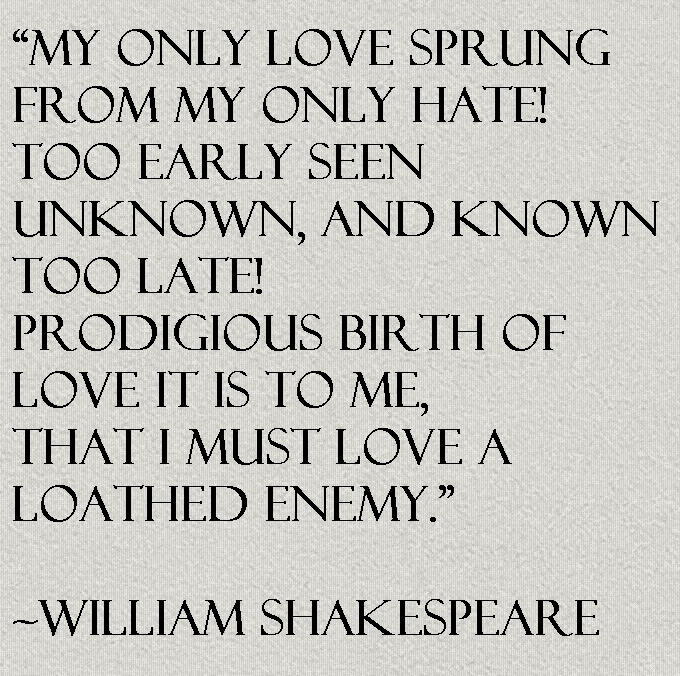 William Shakespeare Quote About Love Awesome Quotes About Life
