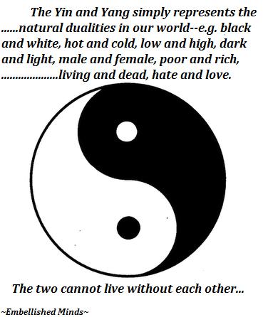 Wisdom Quotes Yin Yang Symbol