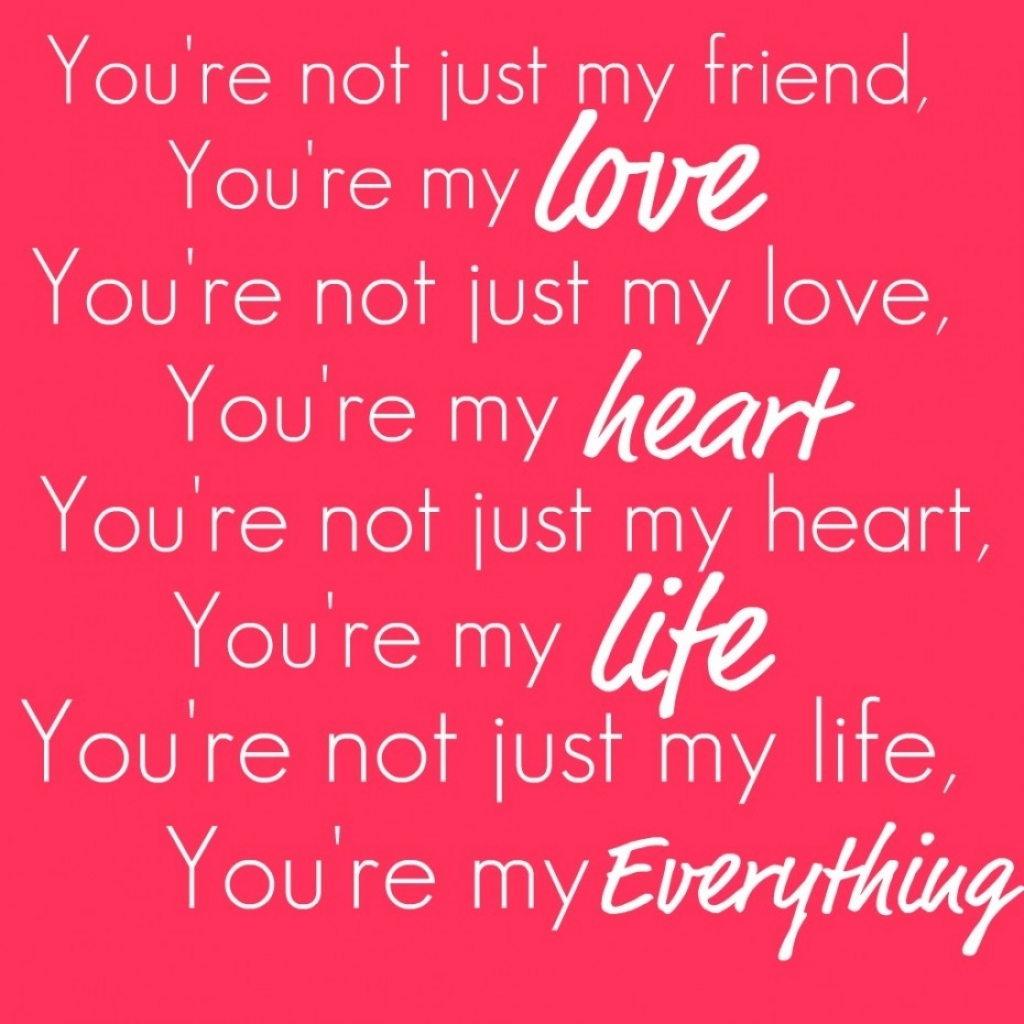 You Are Loved Quotes I Love Everything About You Quotes Quotesgram