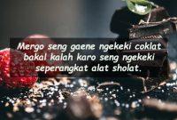 Kata Kata Lucu Bahasa Jawa Coklat Batangan