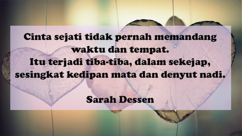 Kata Kata Bahagia Bersama Pacar Sarah Dessen