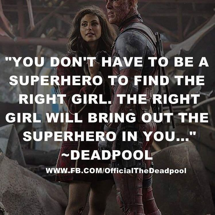 Fandom  C B Quote Of The Day Quote Deadpool Love