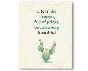 Cactus Quotes Love Quotesgram