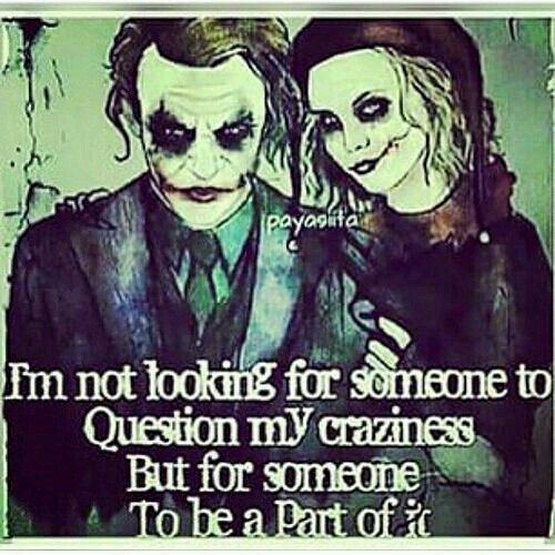 Batman Quotes Joker Quotes Nerdy Love Quotes Harley Quin Quotes Joker And Harley Quinn Heroes Comic Avatar Friendship Cartoons