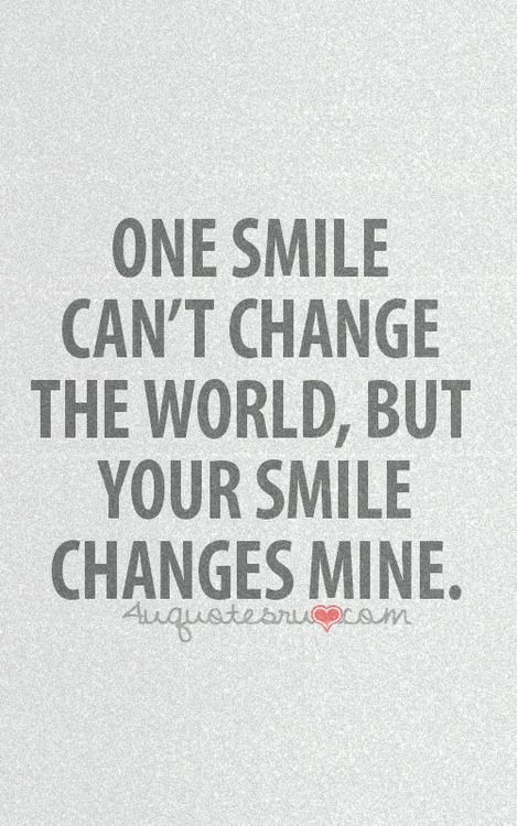 Cute Smile Quotes On Pinterest Smile Sayings Short