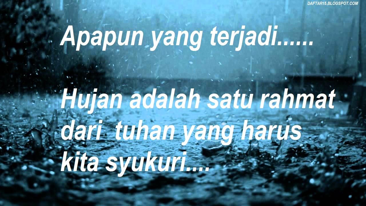 Image Result For Gambar Kata Hujan Di Pagi Hari
