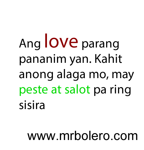 N Best Patama Quotes Tagalog Love Quotes