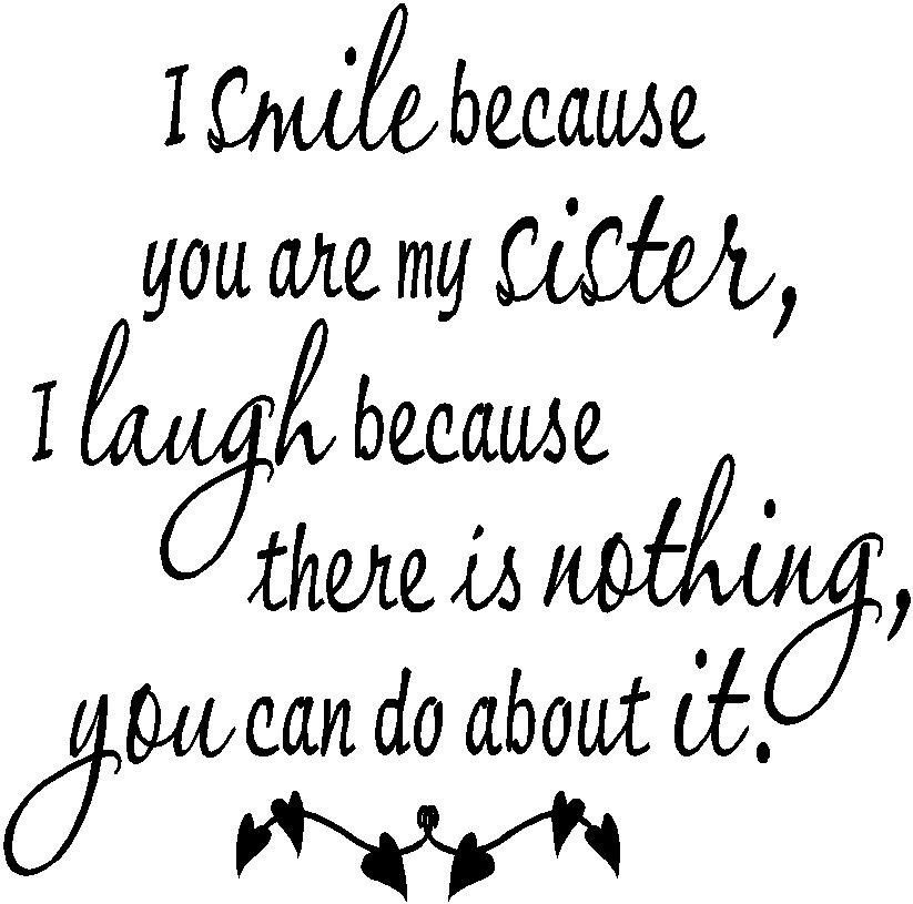 Image Defor Love Quotes For Sisters Sister Quotes Frominyquote
