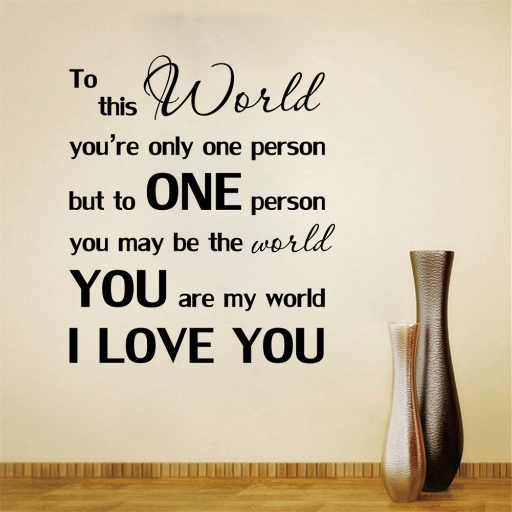 You Are My World I Love You Love